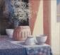 Pudding form, bowls, tea-cloth.