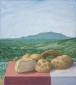 Breadrolls in Lazio. 55x45 cm.