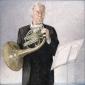 Pieter Gouderjaan. 2002 110x110 cm.