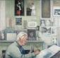 Kees Andréa. 1992 110x115 cm.
