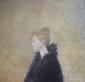Portret van een onbekende. 1972, olieverf/doek, 100x105 cm