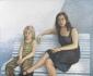 Moeder en zoon. 2005 115x140 cm.