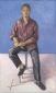 Paul Koek. 2004 200x110 cm.