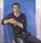 Fedja van Huet. 2004 110x105 cm.