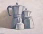 Espressopotten. 24x30 cm.
