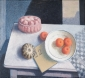 Puddingvorm, broodje, boek. 55x60 cm.