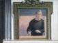Zelfportret met spiegel. 1987 45x60 cm.