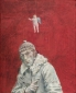 Zelfportret met engeltje. 1970 73x60 cm.