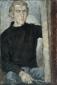 Zelfportret in zwarte trui. 1964 90x60 cm.