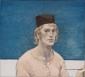 Zelfportret met petje. 1964 45x50 cm.
